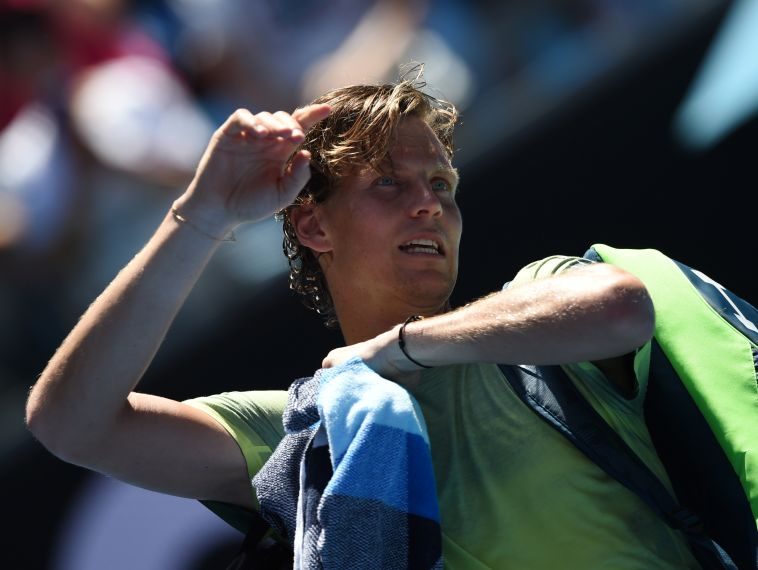 תומאש ברדריך. מצפה לו משחק קשה (AFP)