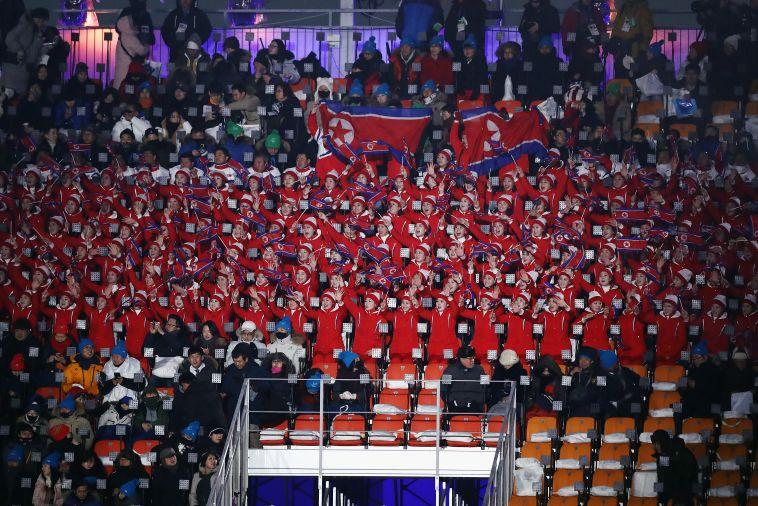 טקס הפתיחה של אולימפיאדת החורף (gettyimages)