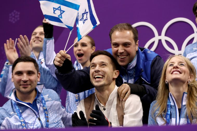 חברי המשלחת הישראלית (gettyimages)