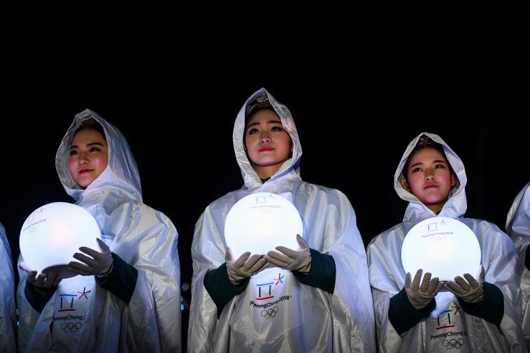 טקס הנעילה של אולימפיאדת החורף (AFP)