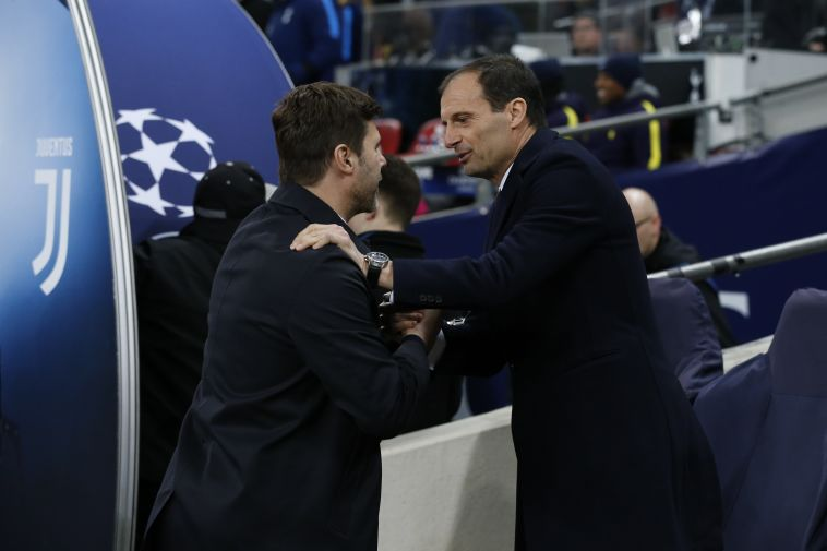 פוצ'טינו עם אלגרי (AFP)