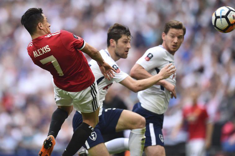 אלכסיס סאנצ'ס. שער שוויון נהדר במשחק נהדר (AFP)
