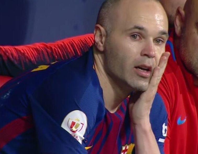 אנדרס אינייסטה. כל קטלוניה בכתה יחד איתו (ברצלונה, האתר הרשמי)