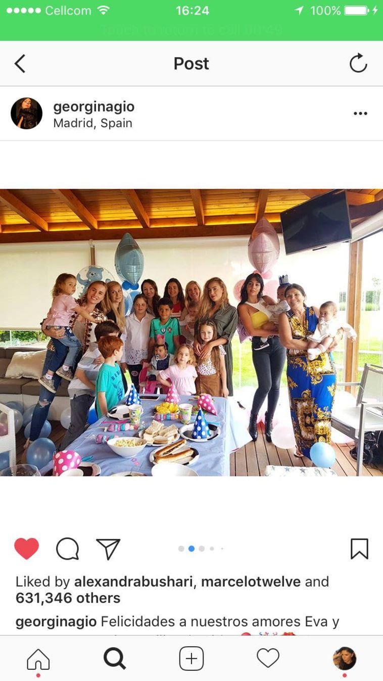 כל המשפחה חוגגת, חוץ מרונאלדו
