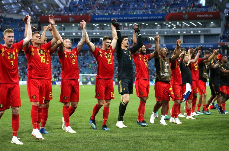 שחקני נבחרת בלגיה. מנטליות של ווינרים (Gettyimages)
