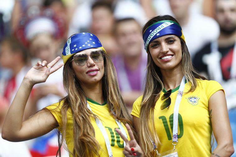 אוהדות נבחרת ברזיל. האכזבה הסתיימה? (AFP)
