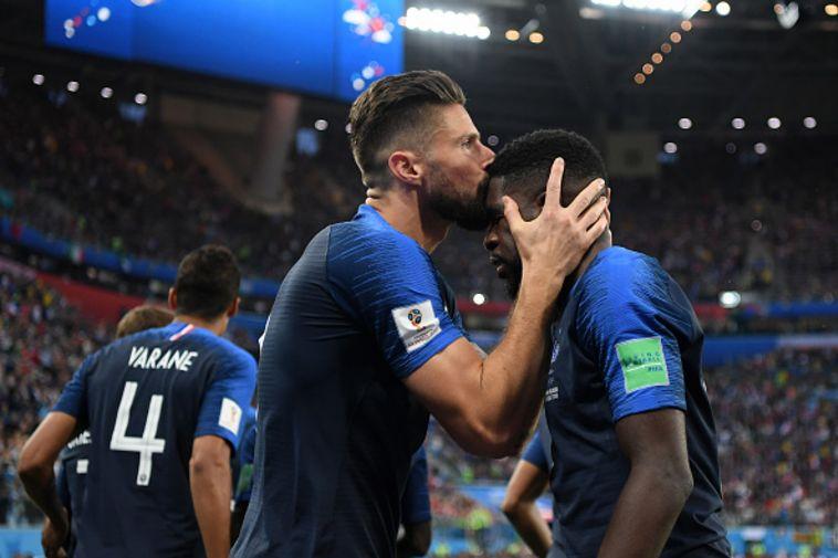 אומטיטי עם ז'ירו. השער שלוקח את צרפת לגמר? (Gettyimages)