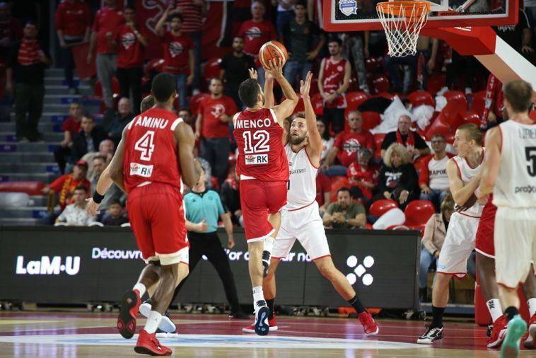 רפי מנקו. משחק הגנה טוב שלו לא עזר (FIBA)