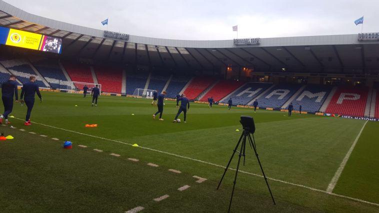 אימון נבחרת סקוטלנד (רון עמיקם, גלאזגו)