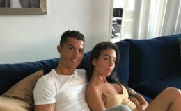 כריסטיאנו רונאלדו ובת זוגו