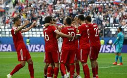 רוסיה חגגה במשחק הפתיחה