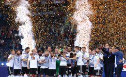 נבחרת גרמניה חוגגת