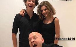 ג'ורדי קרויף עם ילדיו