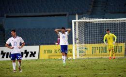 שחקני נבחרת ישראל הצעירה מאוכזבים