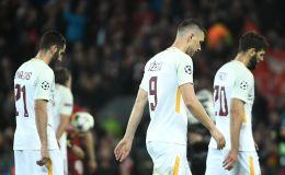 שחקני רומא מאוכזבים