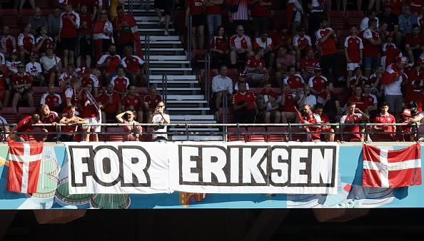 אוהדי נבחרת דנמרק, כריסטיאן אריקסן