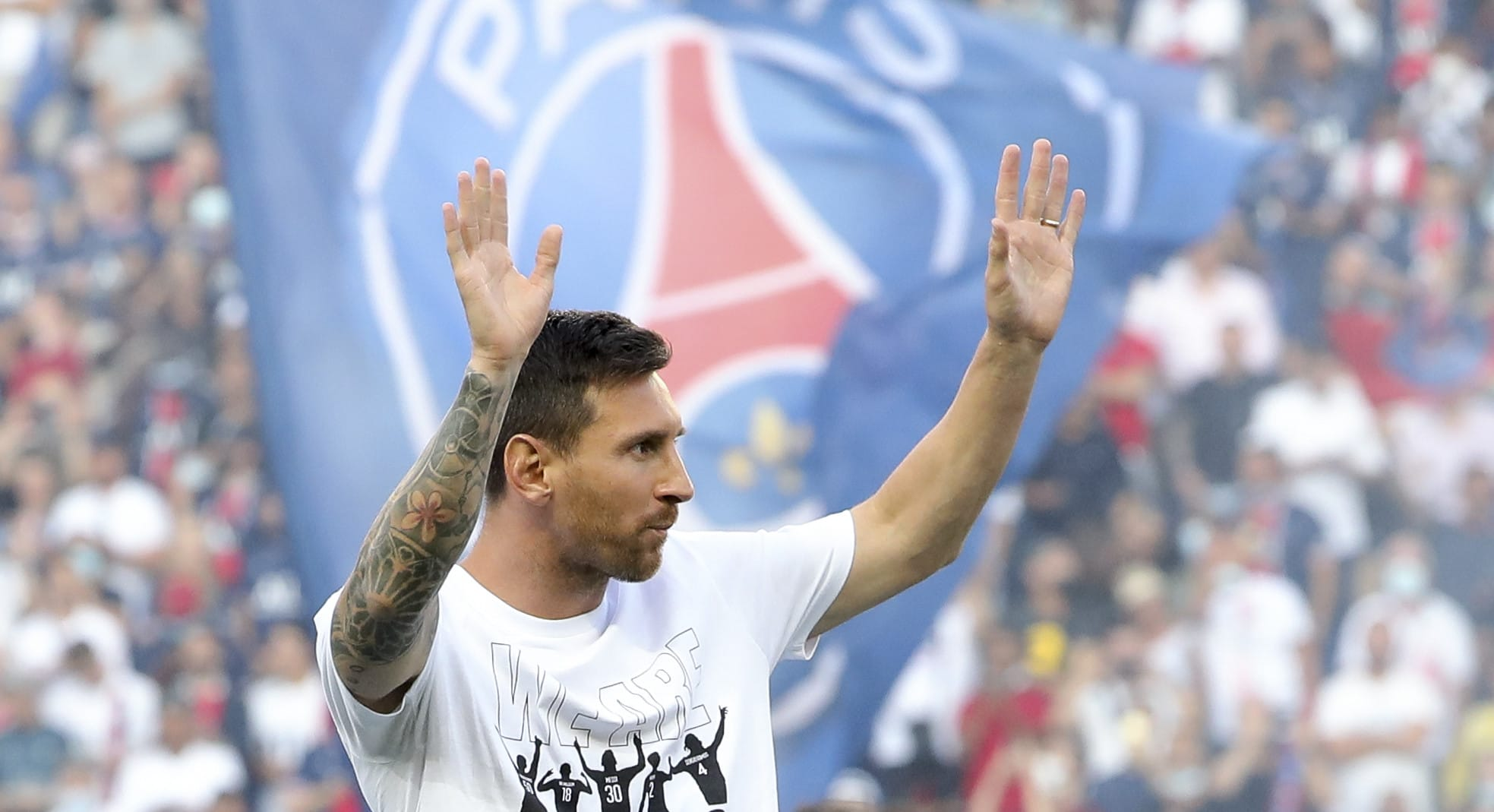 Lionel Messi is on display at Paris Saint.Germain