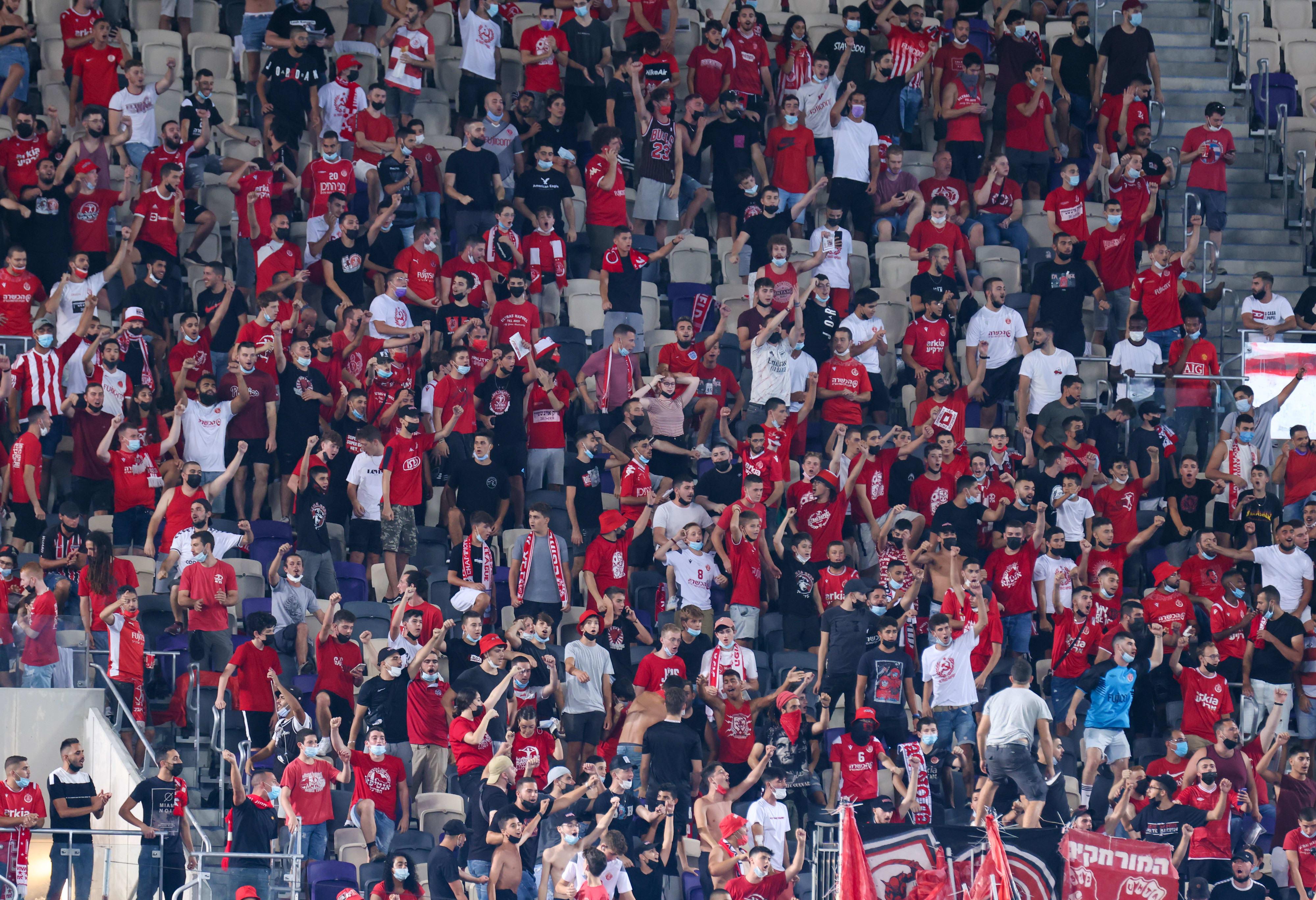 Fans de Hapoel Tel Aviv