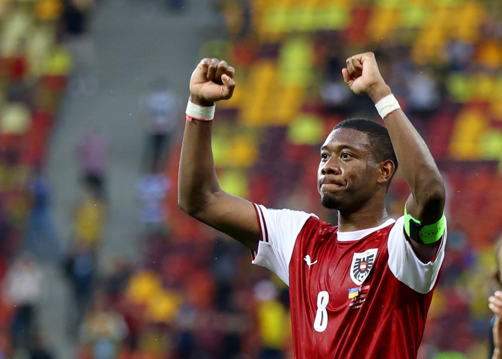 David Alaba Austria national team player