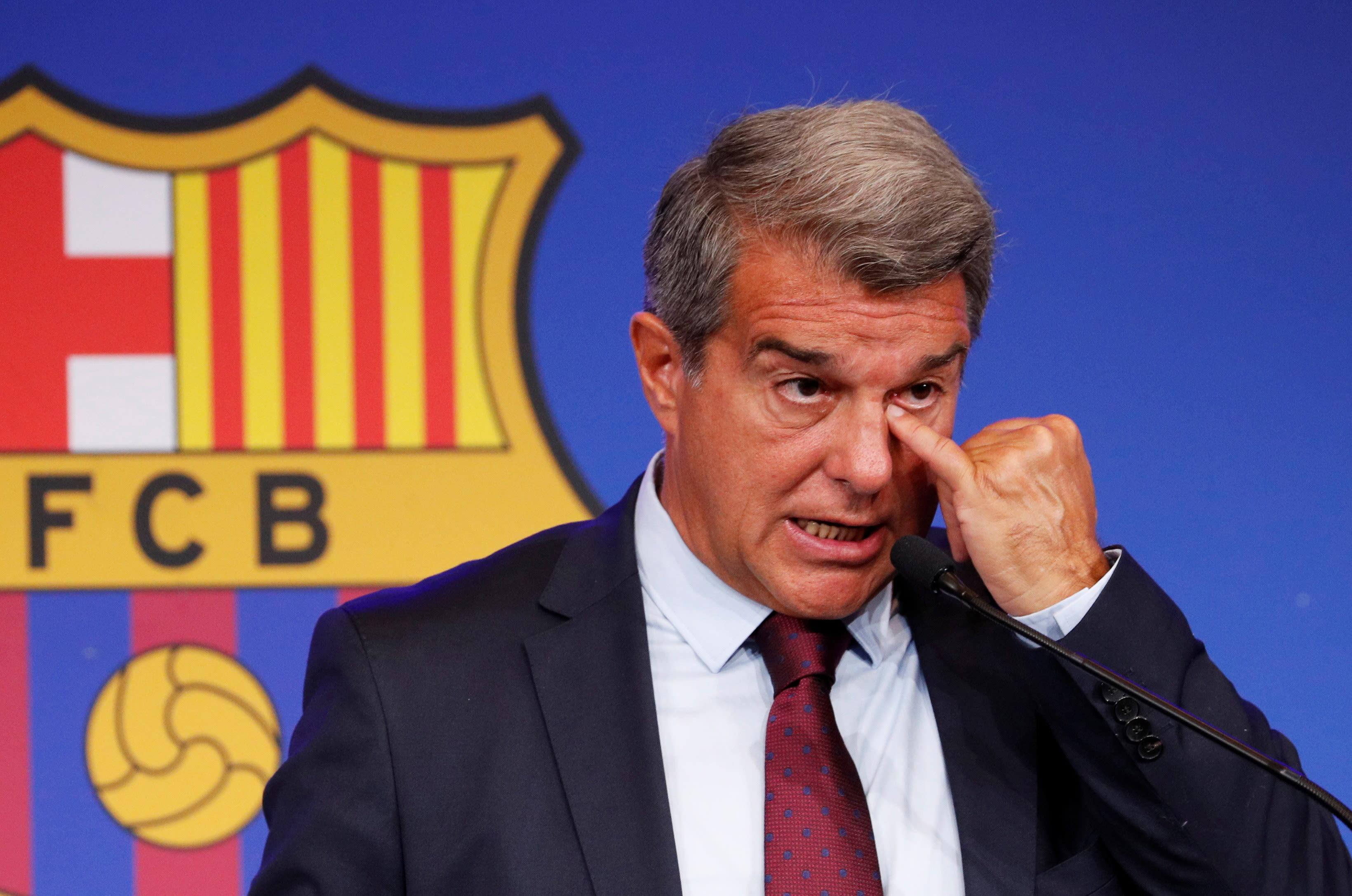 נשיא ברצלונה, ז'ואן לאפורטה