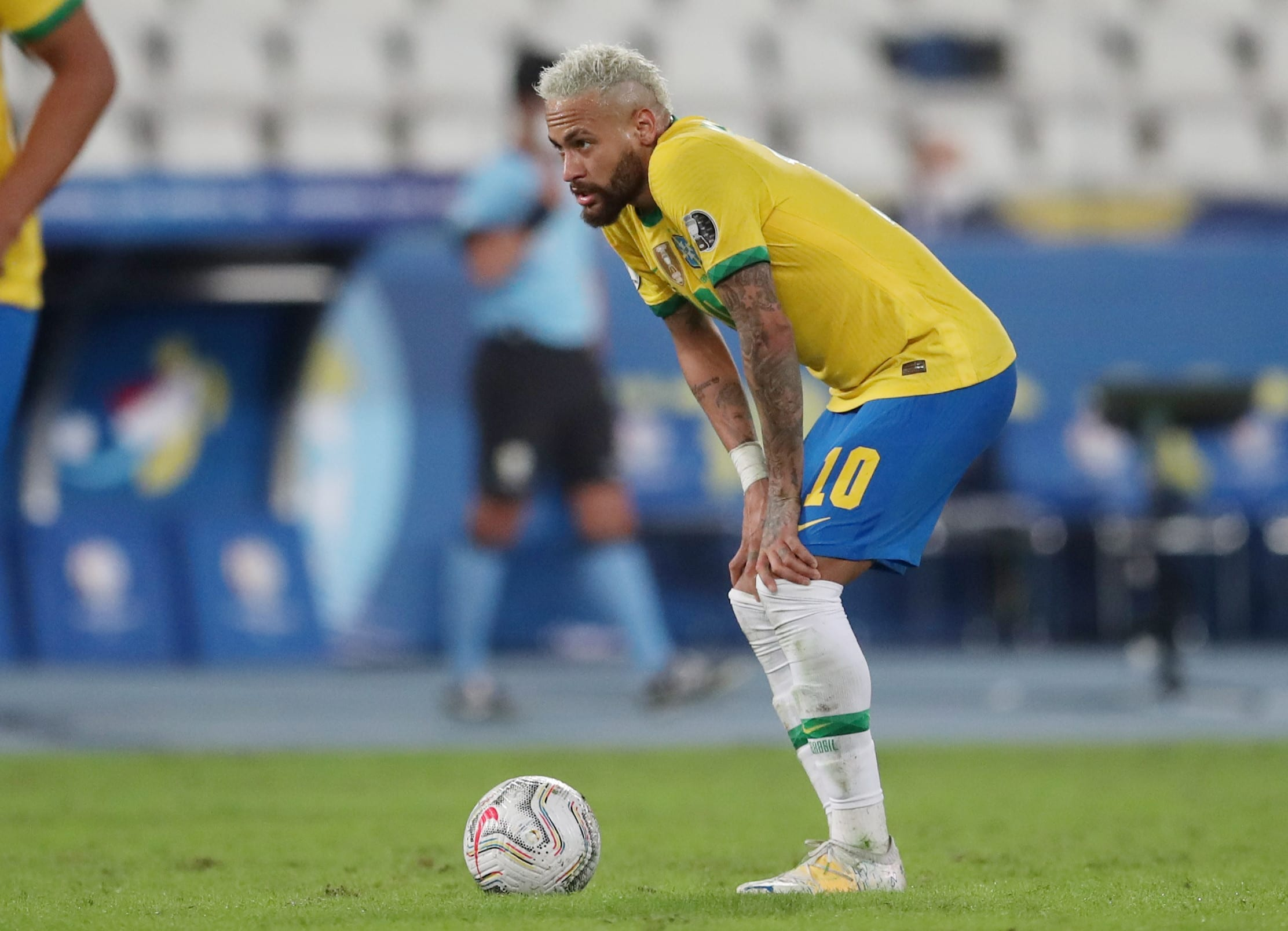Neymar is a player for the Brazil national team