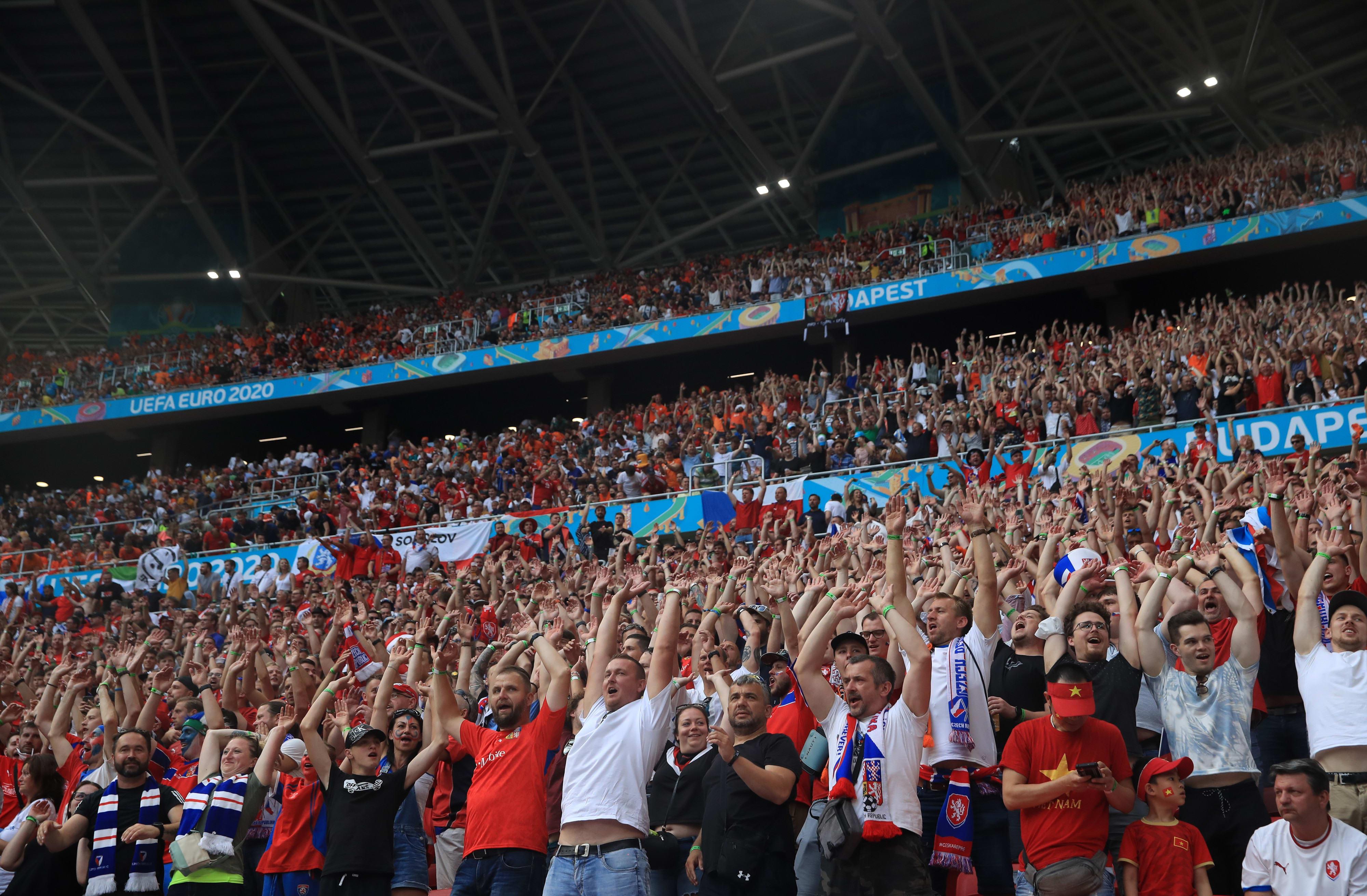 אוהדי נבחרת צ'כיה, יורו 2020