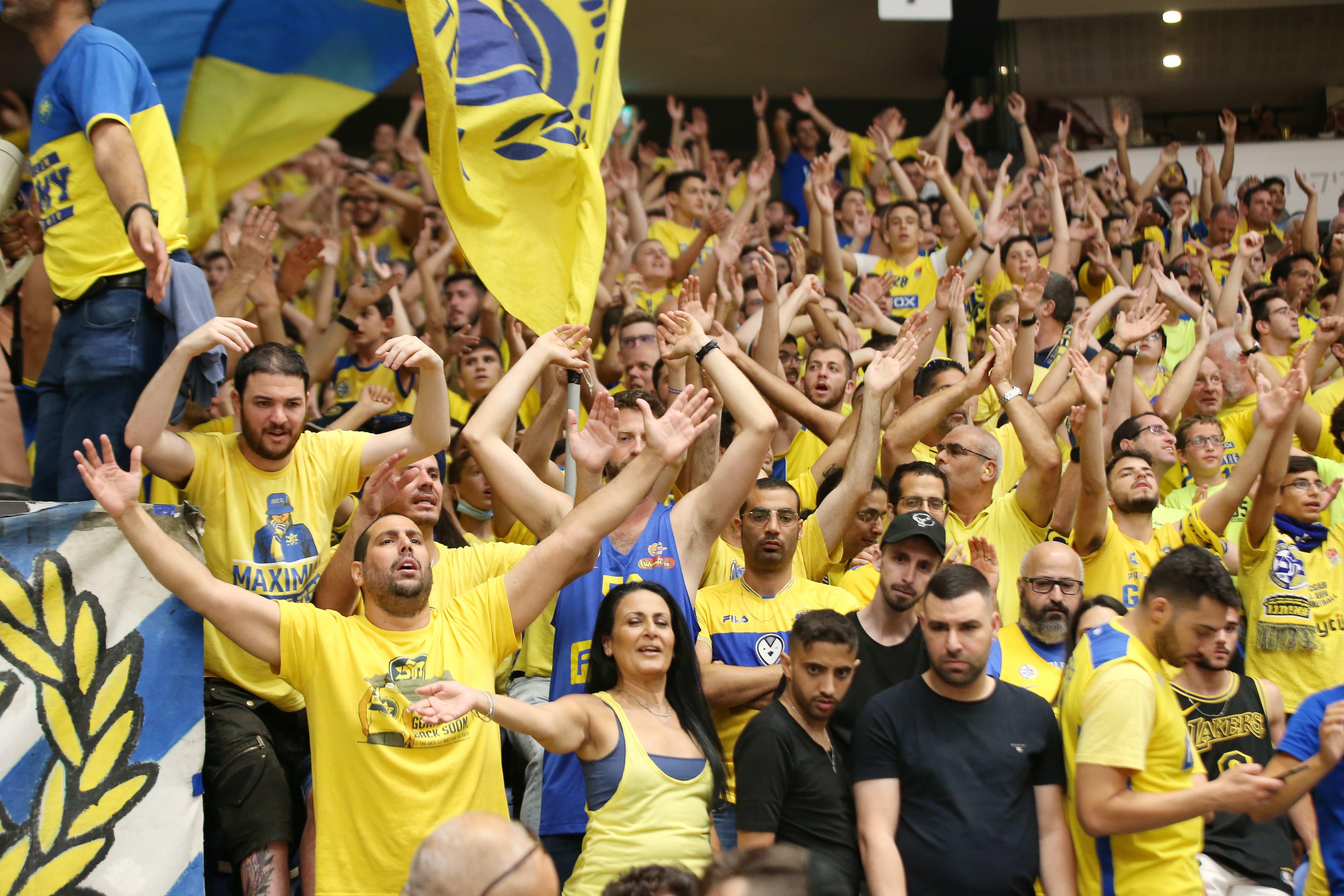 אוהדי מכבי תל אביב בכדורסל