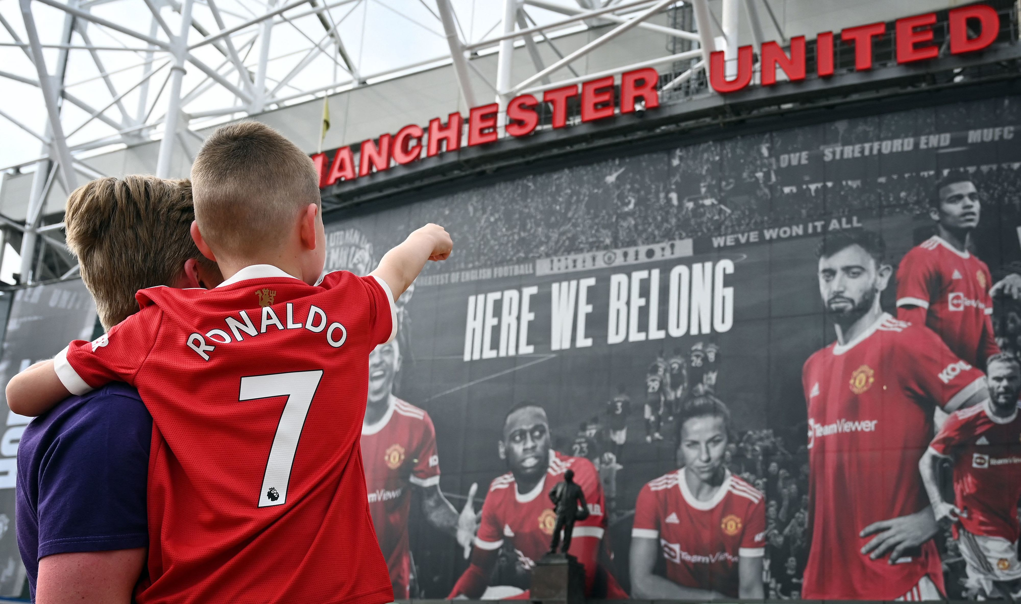 Manchester United fans are excited about the return of Cristiano Ronaldo