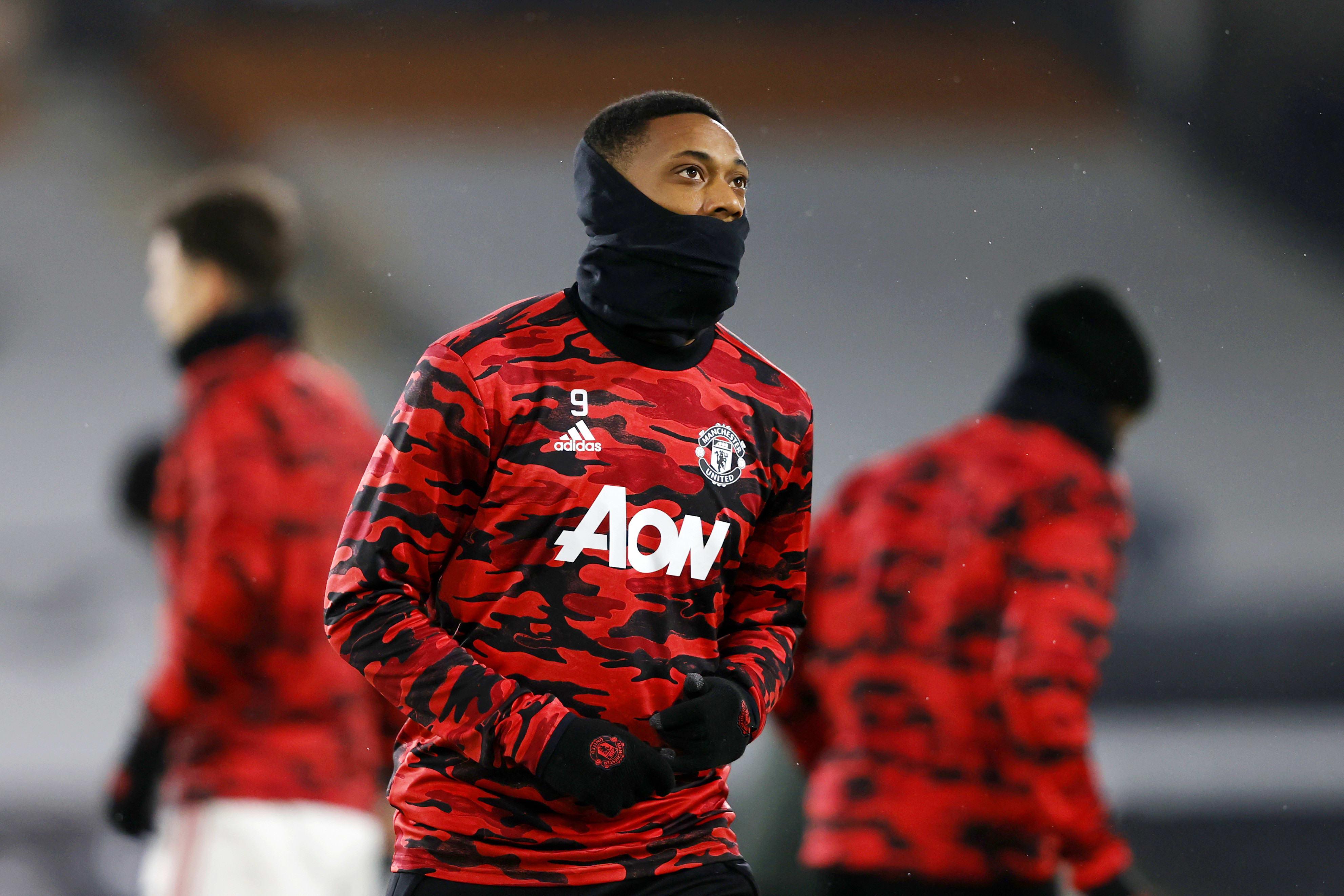 Anthony Martial, Manchester United striker
