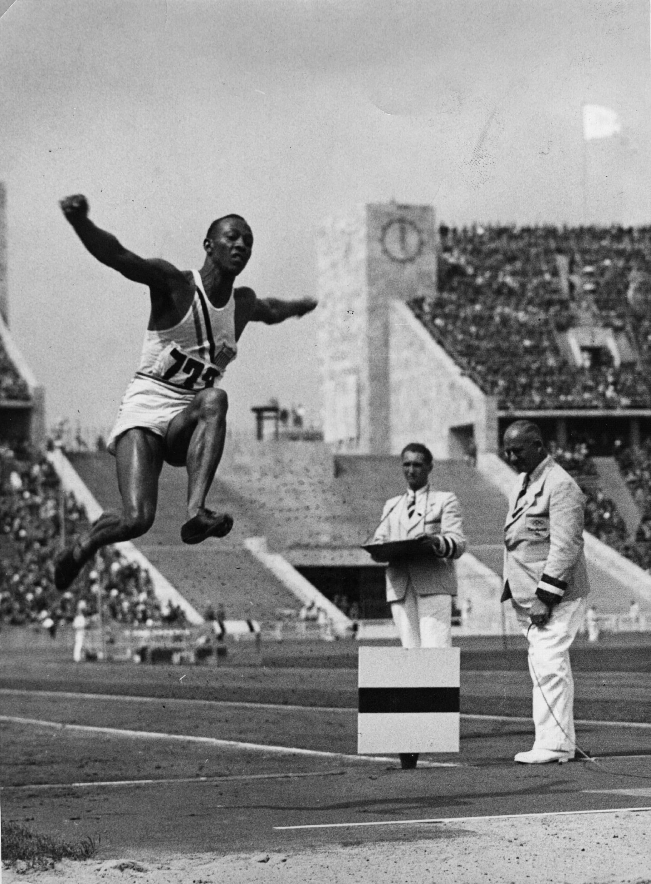 ג'סי אואנס באולימפיאדת ברלין 1936