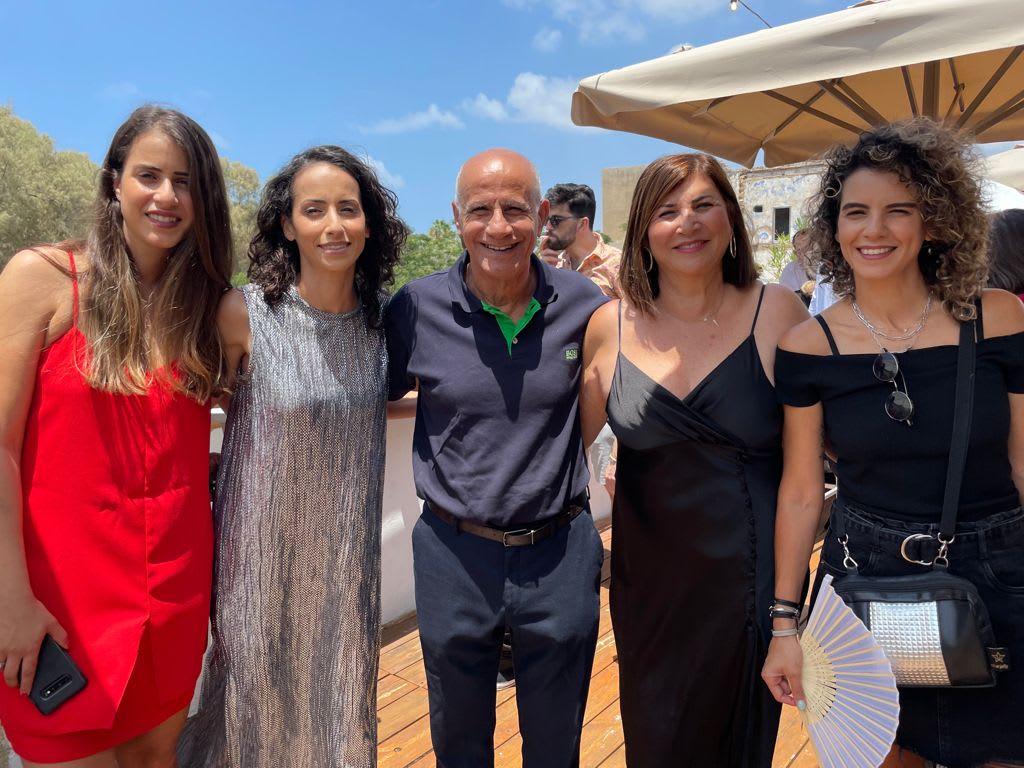 אורי סלימאן עם משפחתו