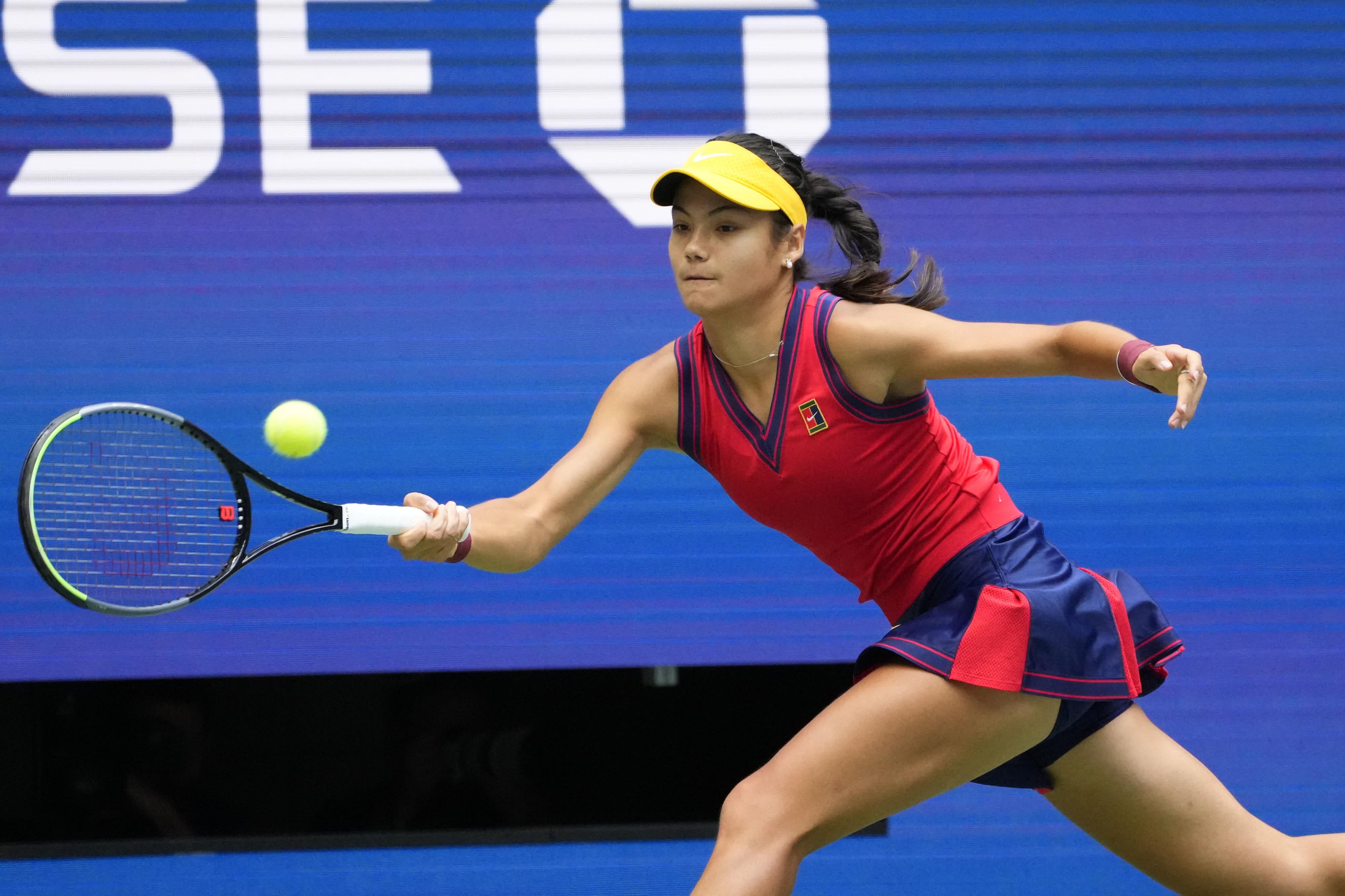 """הטניסאית אמה רדוקאנו, גמר אליפות ארה""""ב"""