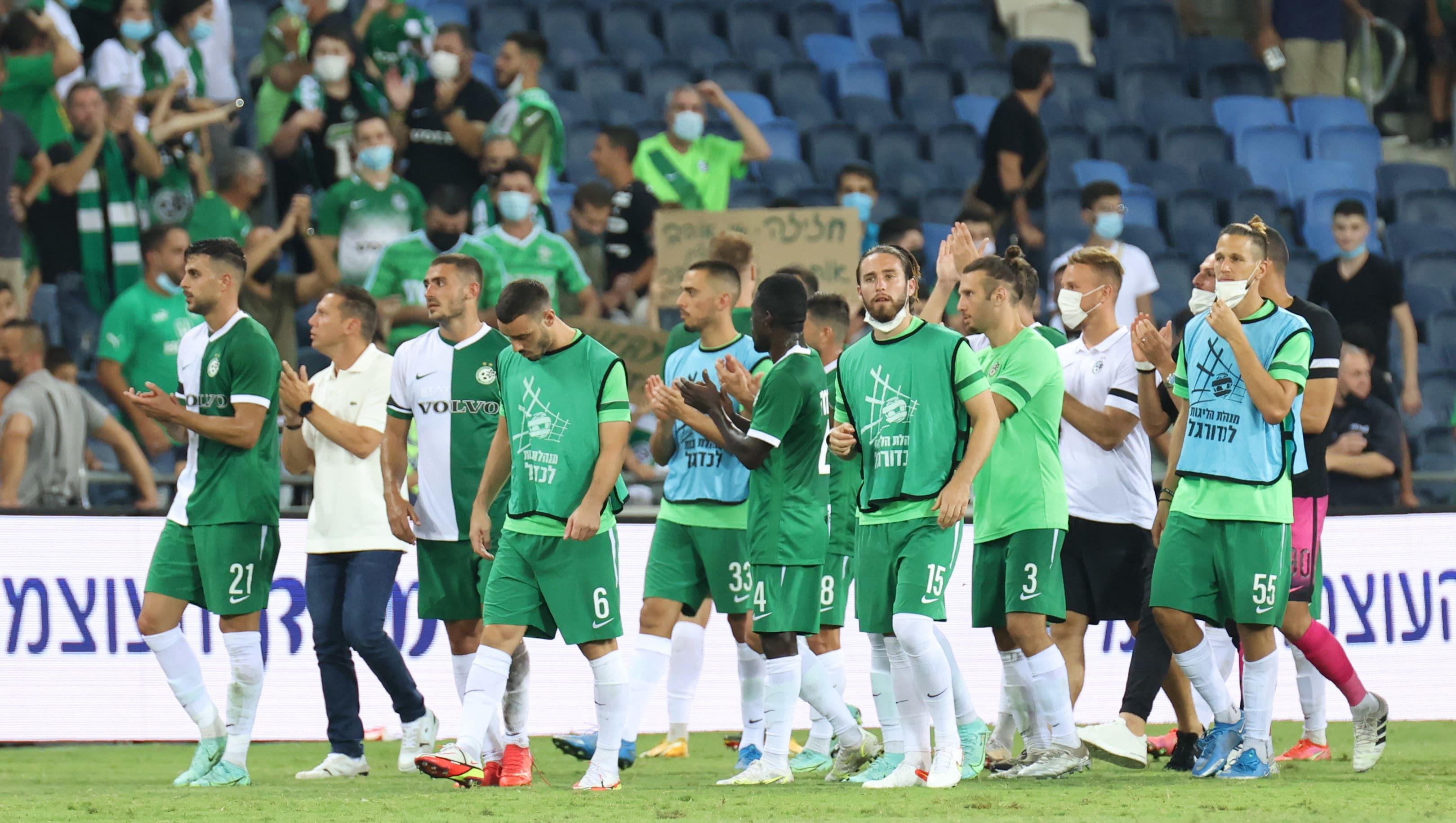 שחקני מכבי חיפה מודים לקהל