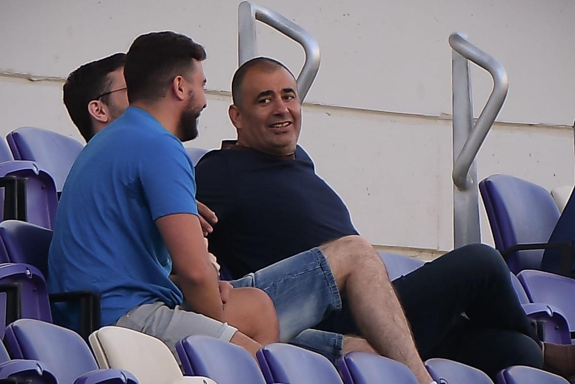 Itzik Nisnov, one of the owners of Hapoel Tel Aviv
