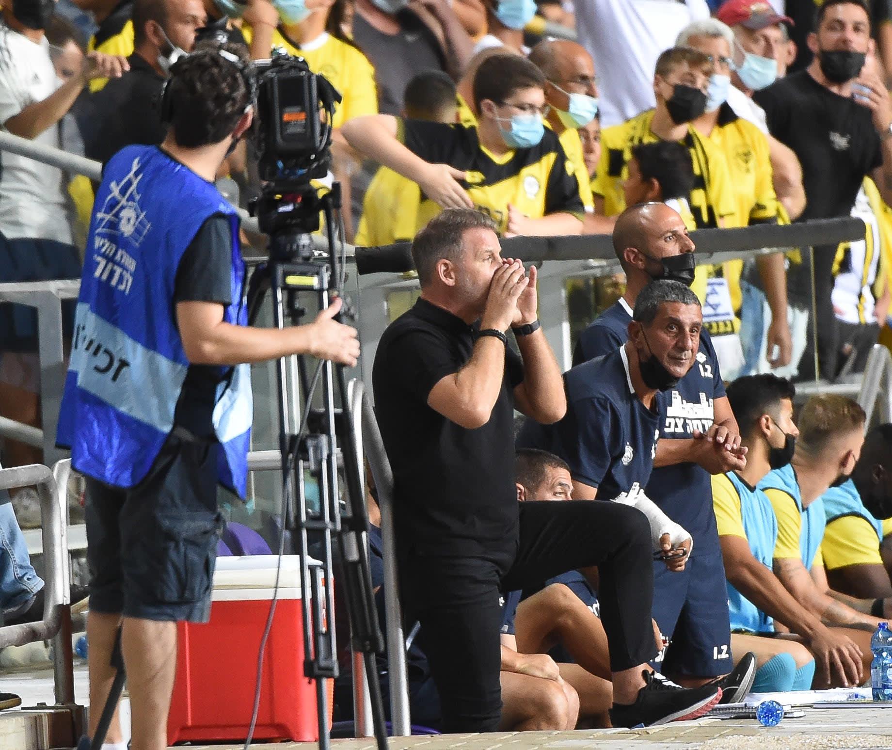 Raymond Atfeld, coach of Maccabi Netanya