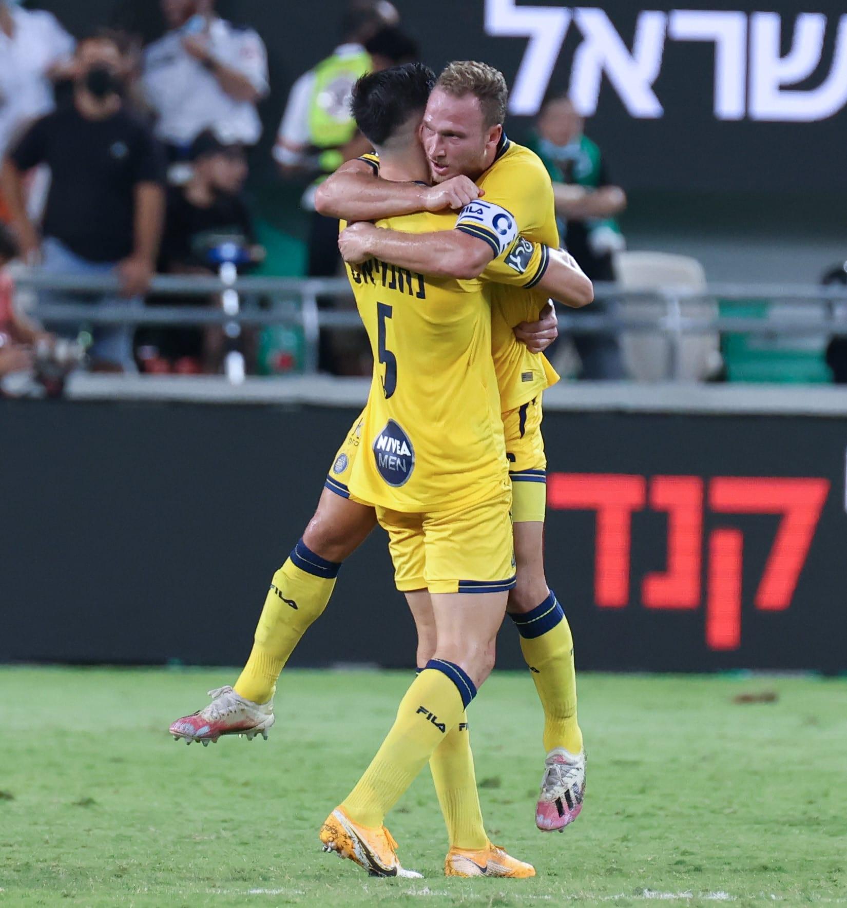 Jugadores del Maccabi Tel Aviv, Dan Glazer, Idan Nachmias