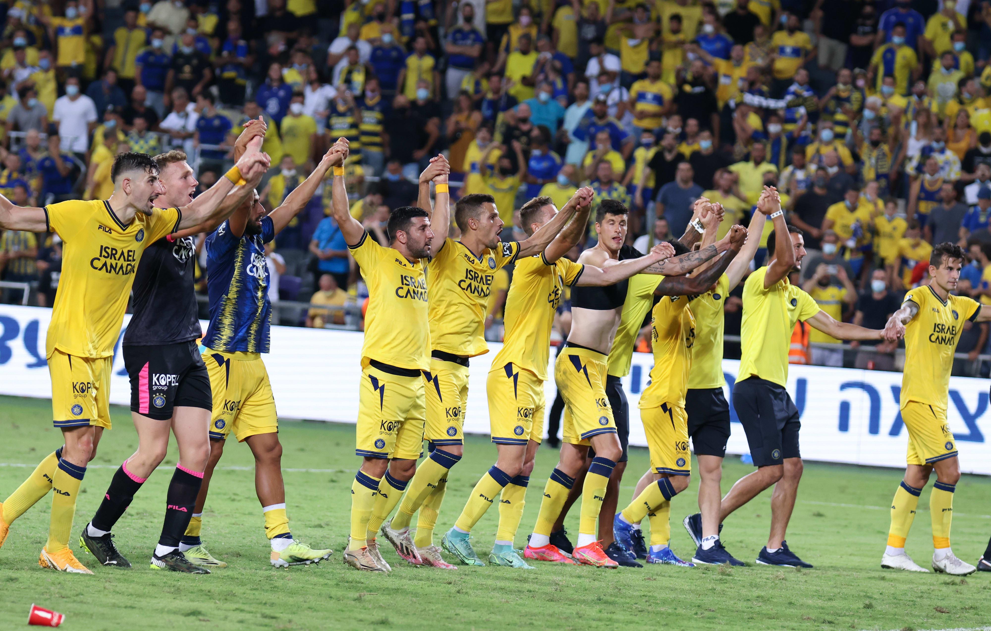 Jugadores del Maccabi Tel Aviv