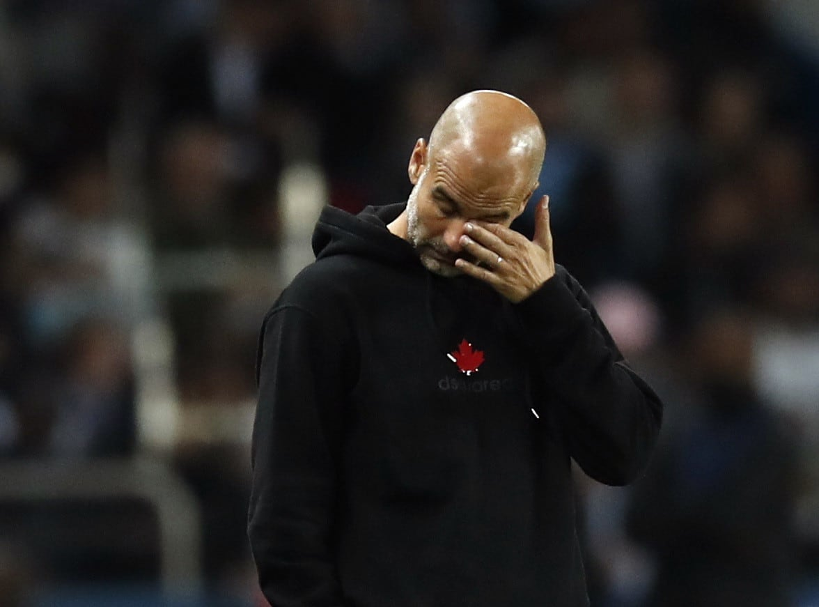 Pep Guardiola is the coach of Manchester City