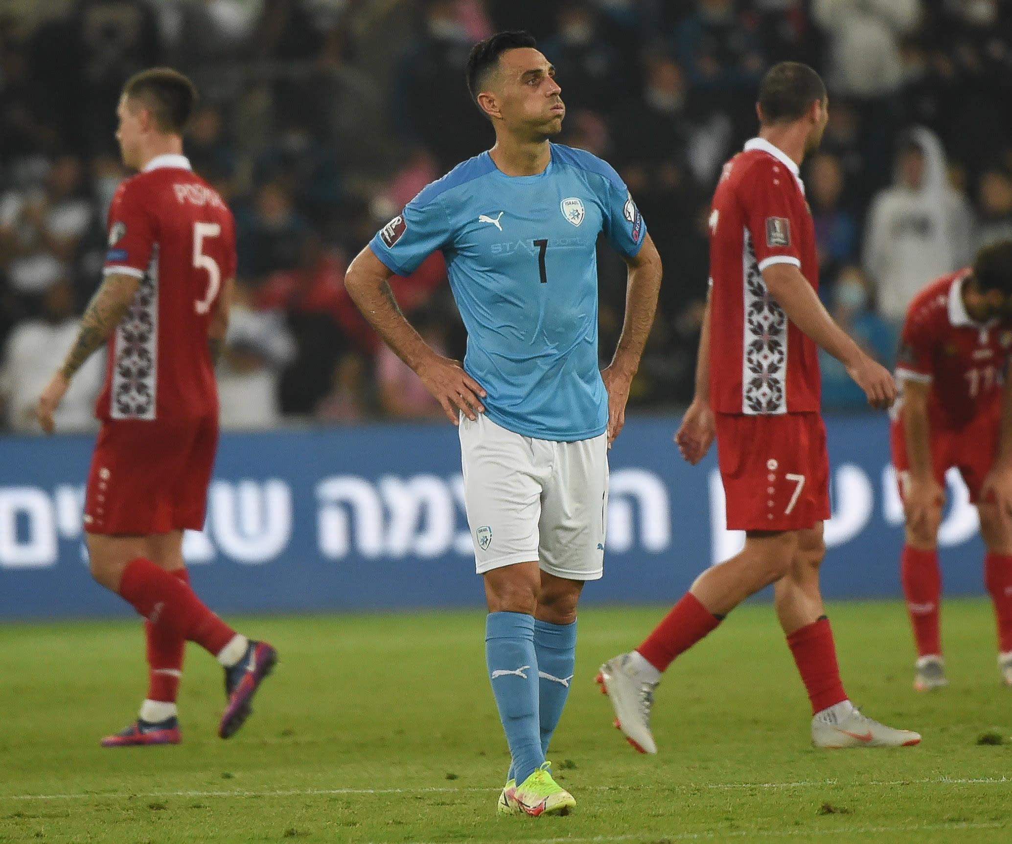 שחקן נבחרת ישראל ערן זהבי
