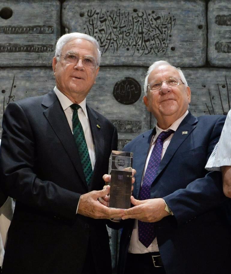 נשיא המדינה ראובן ריבלין ויעקב שחר