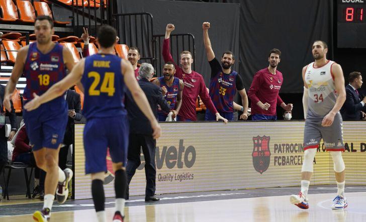 ברצלונה בגמר הליגה הספרדית אחרי 84:98 על סן פבלו בורגוס