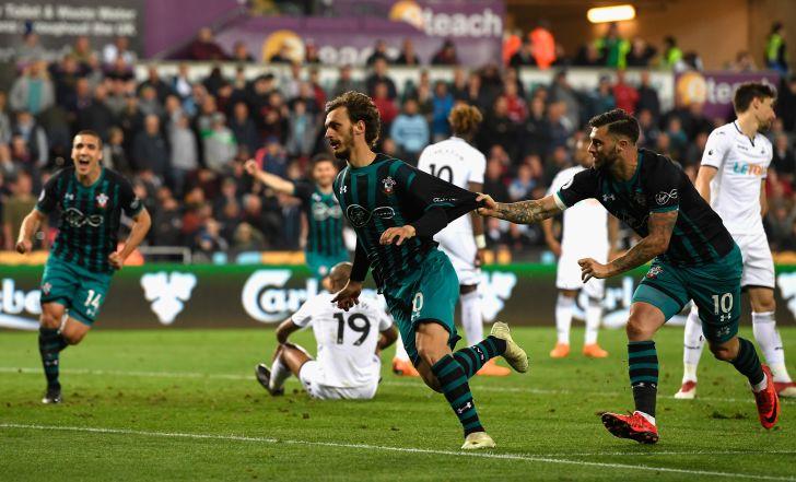 צפו: סאות'המפטון ניצחה 0:1 בסוונזי וקרובה להישארות בליגה
