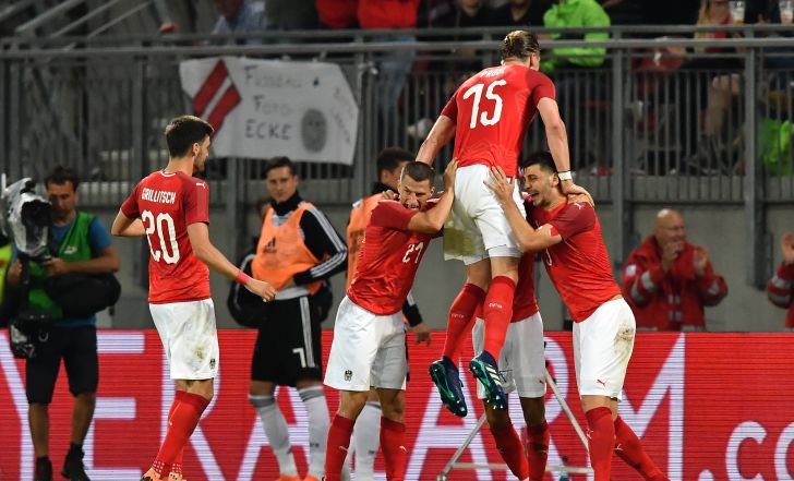 צפו בתקציר: אוסטריה הדהימה את גרמניה 1:2 במשחק החזרה של נוייר