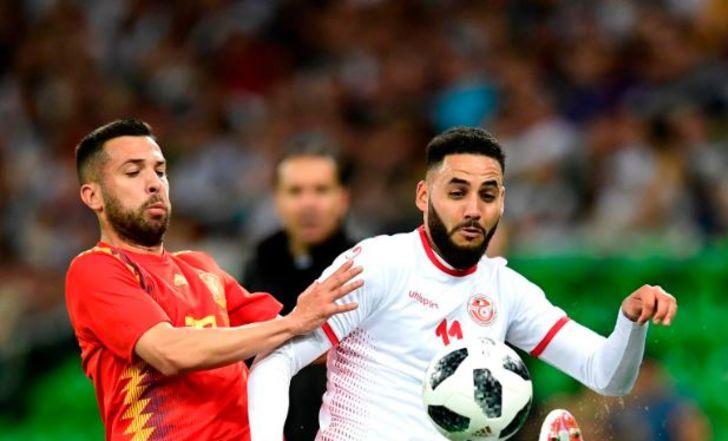 צפו בתקציר: לפני פורטוגל, רק 0:1 לספרד על טוניסיה