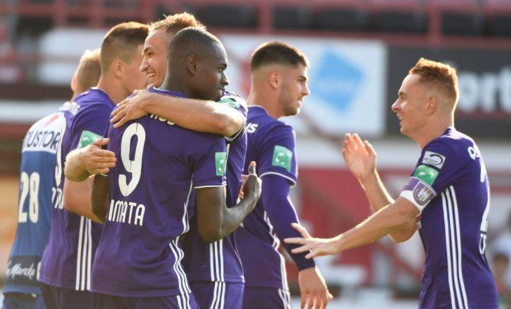צפו בתקציר: אנדרלכט פירקה 0:3 את בוורן במחזור ה-21 בליגה הבלגית