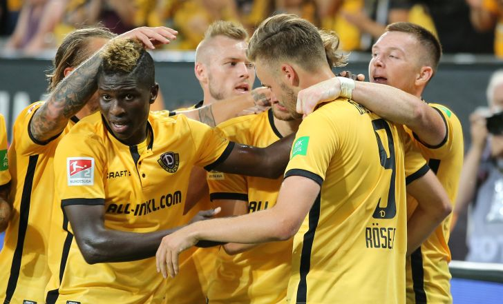 צפו בתקציר: דרזדן פתחה את העונה עם 0:1 מול דואיסבורג