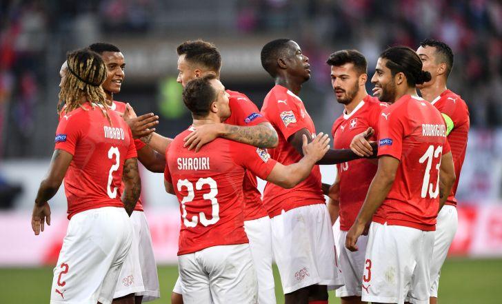 צפו בתקציר: שווייץ התעללה באיסלנד עם 0:6, חצי שעה לקיארטנסון