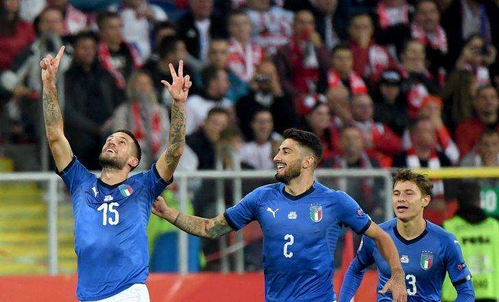 צפו בתקציר: איטליה ניצלה מירידה לדרג השני עם ניצחון בדקה ה-90 על פולין