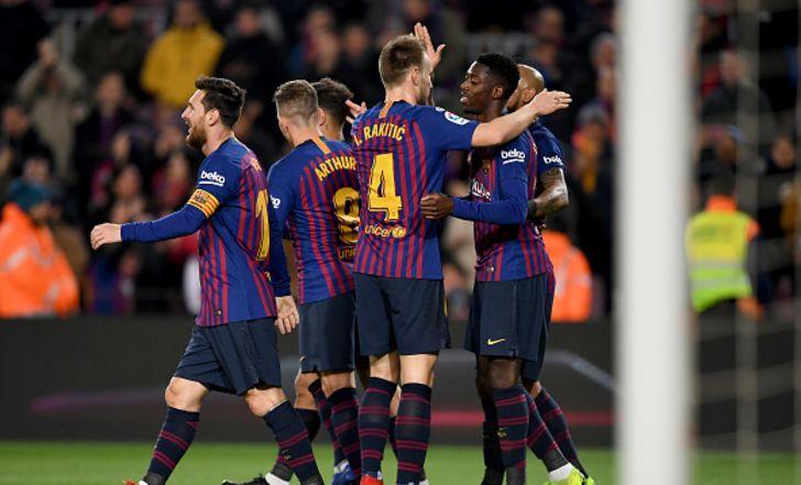 צפו בתקציר: מסי נתן הצגה, ברצלונה ברבע הגמר אחרי 0:3 על לבאנטה