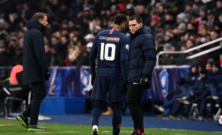 צפו בתקציר: ניימאר נפצע ב-0:2 של פ.ס.ז' על שטרסבורג בגביע